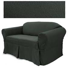 black couch slipcovers. Contemporary Couch Elegant Ribbed Black Furniture Slipcover Throughout Couch Slipcovers L