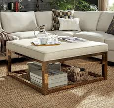 See more ideas about coffee table, glass coffee table, home decor. Amazon Com Ottoman Coffee Table Smooth Beige Top Linen Gold Finish Kitchen Dining