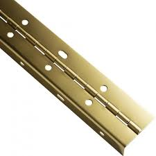 offset piano hinges. 19423 - brass plated finish offset piano hinges
