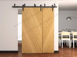 Bypass Barn Door Hardware Austin Bypass Sliding Barn Door Hardware