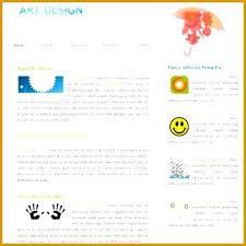 Gallery Website Template Art Free Download Interestor Co