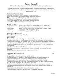 Qa Engineer Sample Resume Free Resumes Free Resumes