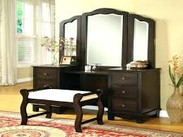 Makeup Vanity Set Espresso Bedroom Beautiful Acme 3 With Lighted Mirror . Makeup  Vanity ...