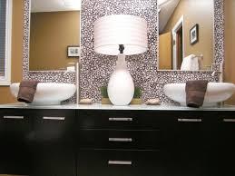 trendy bathroom design with astounding black wooden bathrooms cabinet vanities combined glass tops and alluring double alluring bathroom sink vanity cabinet