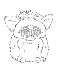 Furby Boom Kleurplaat Gratis Kleurplaten Printen