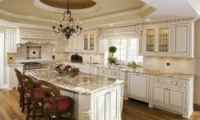 great antique white glazed kitchen cabinet ideas glazed antique