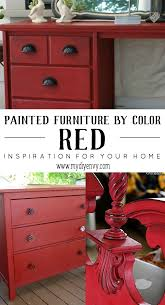 red furniture ideas. Painted Furniture Ideas | Red Www.mydiyenvy.com