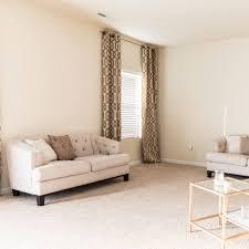 Makeover Living Room Glamorous Living Room Makeover By Lowes Popsugar Home