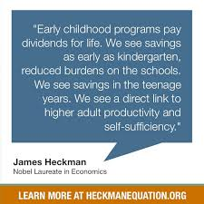 best invest wisely images equation systems of   early childhood programs pay dividends for life according to nobel laureate james heckman