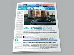 Newspaper Template Indesign This Website Offers Almost Newspaper Templates For Ad Template