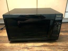 watts microwave panasonic 1300 watt genius black cubic foot oven
