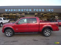 2011 Red Candy Metallic Ford F150 FX4 SuperCrew 4x4 #58447784 ...