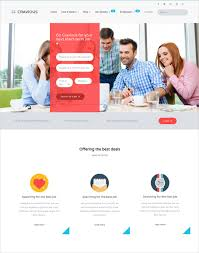 Template Websites Cool 48 Job Portal HTML48 Themes Templates Free Premium Templates