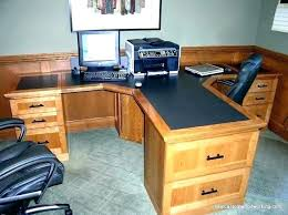 2 person desk. Home Office Desk For Two People Wonderful 2 Person 1 Pick Regarding Furniture .