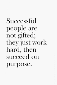 Successful People Are Not Gifted They Just Work Hard Then I