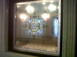 stained glass designs expressions decorative mirrors clear door glass