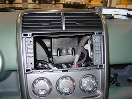 2003 2011 honda element car audio profile honda element factory radio cavity