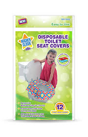 Disposable Toilet Amazoncom Mighty Clean Baby Disposable Toilet Seat Covers 24