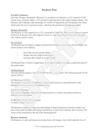 example of a business plan sample business plan free business plan template outline