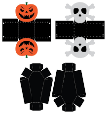 Pdf files for halloween set 1 Halloween Cards And Boxes