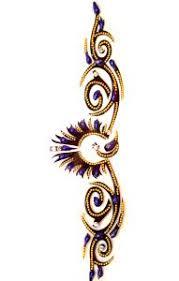 Ganga šperky A Doplňky Nalepovací Tetování