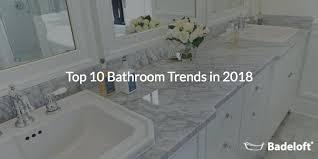 top 10 bathroom trends in 2018 banner