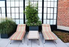 cool lounge furniture. Outdoor Furniture Modern Terrace Design Sunbeds Covers Striped Upholstered Seats Cool Lounge