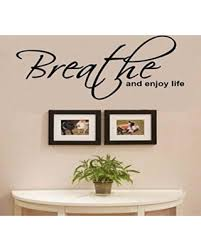 breathe and enjoy life vinyl wall decals quotes sayings words art decor lettering vinyl wall art on wall art lettering quotes with great deal on breathe and enjoy life vinyl wall decals quotes