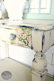 floral decoupage furniture. Butter By Sweet Pickins Milk Paint With Floral Technique | Shabby Chic Furniture Pinterest Paint, And Decoupage U