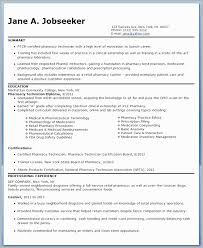 Pharmacy Technician Externship Resume Examples Veterinary Assistant