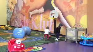 Kids Club La Fitness Baby Carter Playing Basketball At Kids Club At La Fitness