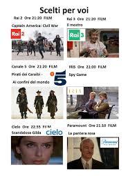 Programmi televisivi oggi Giovedi 16 Aprile Ora in tv - Il Gazzettino di  Livorno