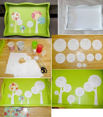 Serving Tray Decoration Ideas Favorite Handmade Tray Projects 100 Easy DIY Serving Trays 46