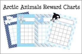 Winter Incentive Charts Arctic Animals Winter Incentive Reward Charts