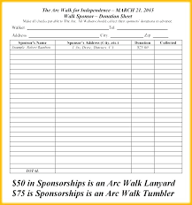 Fundraising Order Form Templates Pledge Form Template Pdf Spicetools Co
