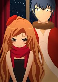 Toradora christmas day by copernico1984 on DeviantArt