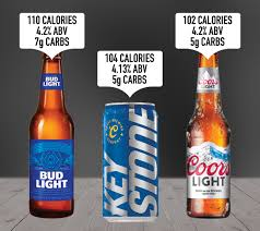 light beers and their nutrition