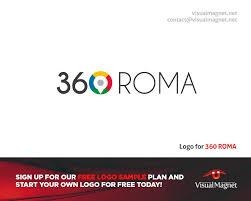 Free Company Logo Design Samples Logo For 360 Roma Design By Visual Magnet Custom Logo