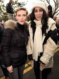 Secret Service to investigate Madonna Daily Mail Online The legendary singer and Scarlet Johansson took a moment out of the march to snap a