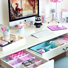 office desk decor ideas. Office Desk Decor Great Ten The Chicest Regarding Intended For Stylish House Girly . Ideas S