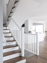 american oak mdf timber stair staircase barade classic white