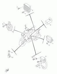 2014 yamaha zuma 50f yw50feo electrical 1 parts best oem rh bikebandit