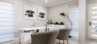 designer home office. This Clean, Modern Home Office Near The Front Entry Takes Full Advantage Of Natural Light, Creating An Open, Welcoming Space To Work In. Designer R