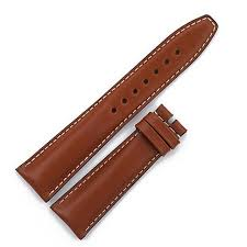 tag heuer brown leather strap 22x18 image 1