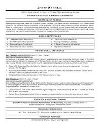 ... Information Security Resume 13 Sample ...
