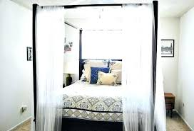 4 Poster Bed With Curtains Bed Canopy Curtains Bed Canopies With ...