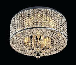 lightning tags carina 4 light chrome finish crystal chandelier chrome finish 4 light round