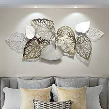 Home living room apartment living living room decor living spaces decoration inspiration decor ideas deco design eclectic decor eclectic style. Amazon Com Handmade Metal Wall Art Decorations European Modern Craft Iron Background Flowers Luxury Kitchen Gifts For Home Hotel Living Room Bedroom Everything Else