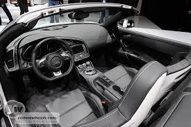 audi r8 spyder interior. Exellent Audi Audi R8 Spyder Interior For Interior U