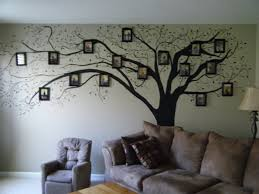 painted tree on wall image home garden and rtecx